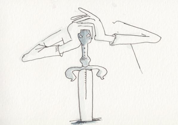 Schwertversenkt