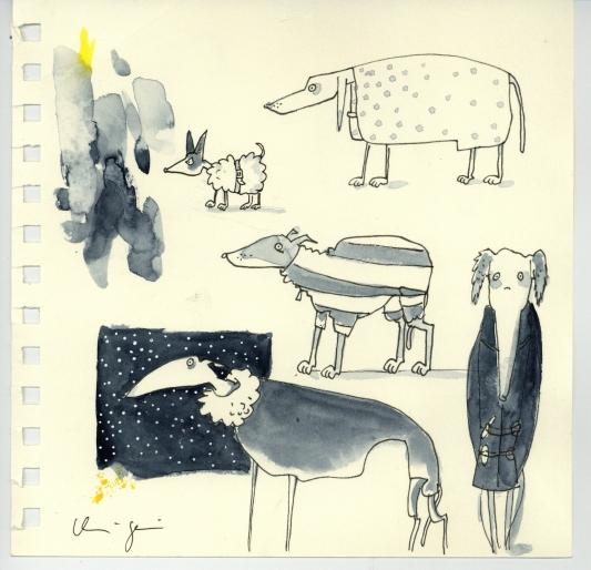 HundeinMänteln