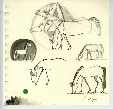 Pferdeblatt