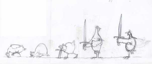 Huhnwurmschwert