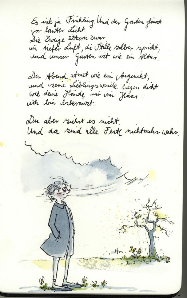 Gedicht Melaniegaranin